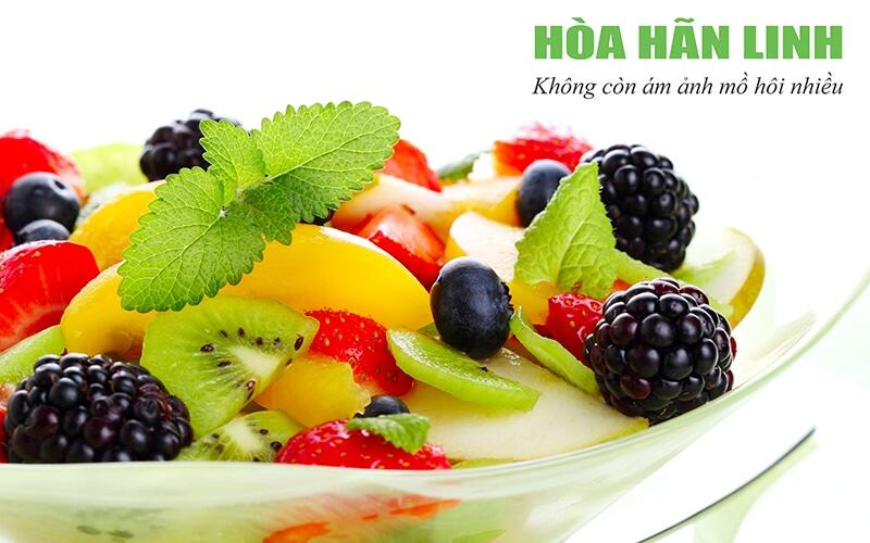 Người bị rối loạn thần kinh thực vật nên ăn nhiều rau xanh và trái cây tươi